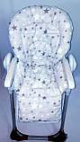 Односторонний чехол на стульчик для кормления Capella ABC design Joy Baby и подобные, фото 3