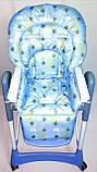 Односторонний чехол на стульчик для кормления Capella ABC design Joy Baby и подобные, фото 7
