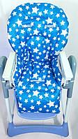Односторонний чехол на стульчик для кормления Capella ABC design Joy Baby и подобные, фото 1