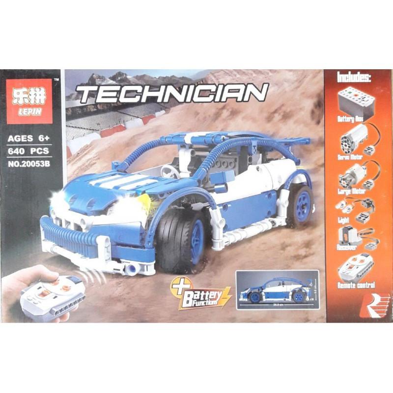 """Конструктор """"Хэтчбек"""" Lepin 20053B 640 деталей Аналог Lego Technic 6604 на радиоуправлении"""