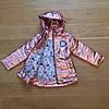 Весенние детские курточки для девочек блестящие, фото 3