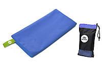 Рушник з мікрофібри Велокиїв 120х60 см синій