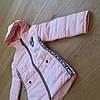 Демисезонные курточки детские для девочек новинка, фото 3