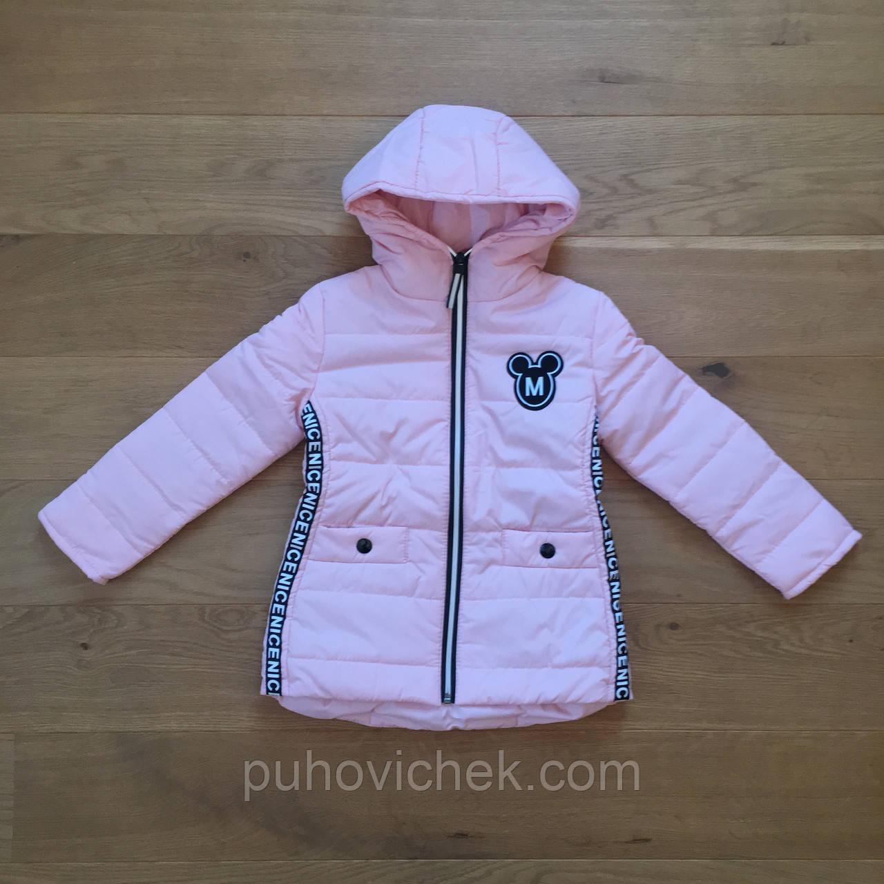 Демисезонные курточки детские для девочек новинка