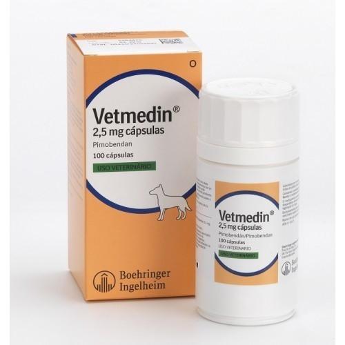 VETMEDIN 2,5 mg   ВЕТМЕДИН 2,5 мг 100 капсул , для лечения сердечной недостаточности у собак