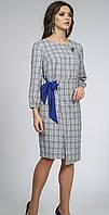 Платье Alani-854 белорусский трикотаж, серый, 46
