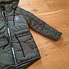 Демисезхонная курточка для мальчика стильная парка, фото 4