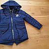 Демисезхонная курточка для мальчика стильная парка, фото 5