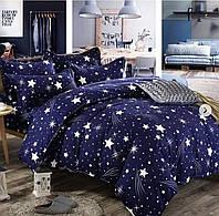 Постельное белье из фланели полуторного размера, Звезды