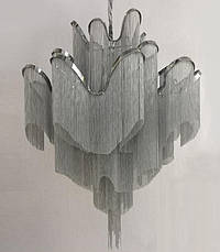 """Серебренная люстра """"Фаворит"""" (908-D0033-8 Silver), фото 3"""