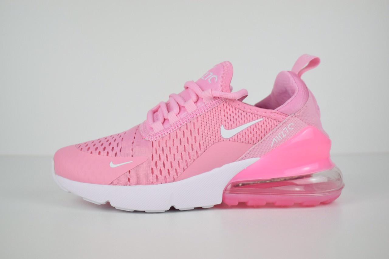 5dd8ee95942db Женские кроссовки Nike Air Max 270 - crossGo: одежда и обувь для динамичной  жизни в