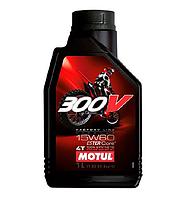Масло моторное Motul 300V 4T Factory Line Off Road 15W-60 1л