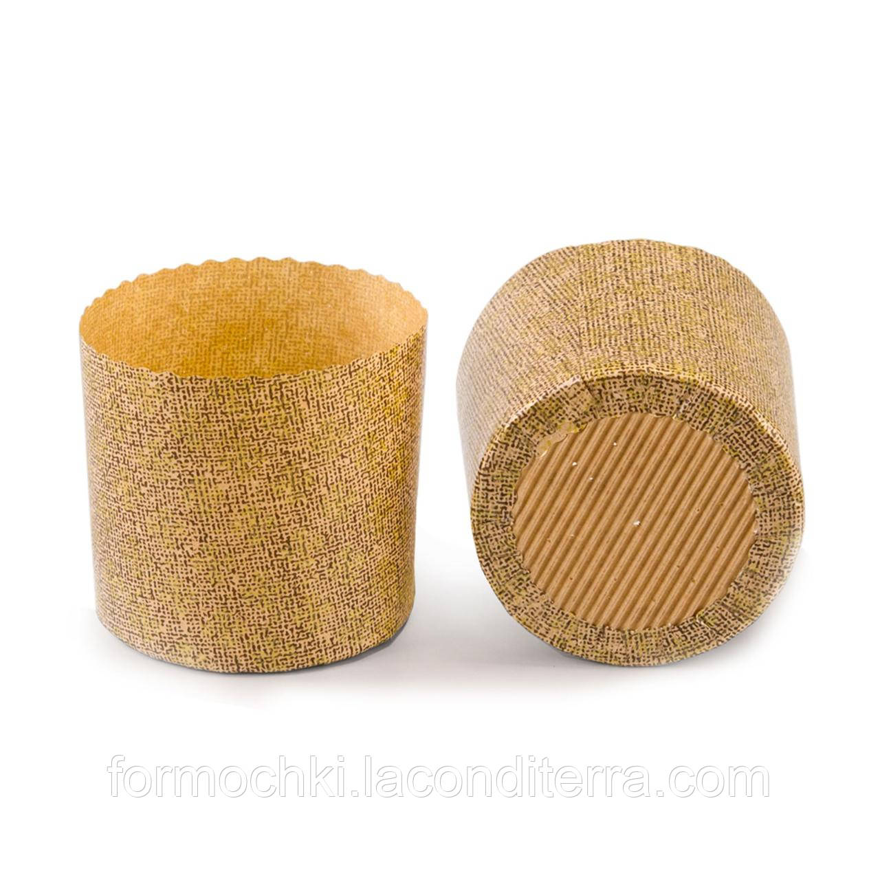 Форма для выпечки паски бумажная (134/115 мм)