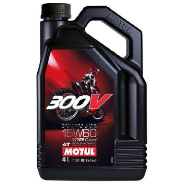 Масло моторное Motul 300V 4T Factory Line Off Road 15W-60 4л