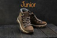 Ботинки Twics К2 (Columbia) (зима, подростковые, натуральная кожа, оливковый)