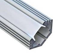 Алюминиевый профиль угловой фаской для светодиодной лентыFeron CAB272