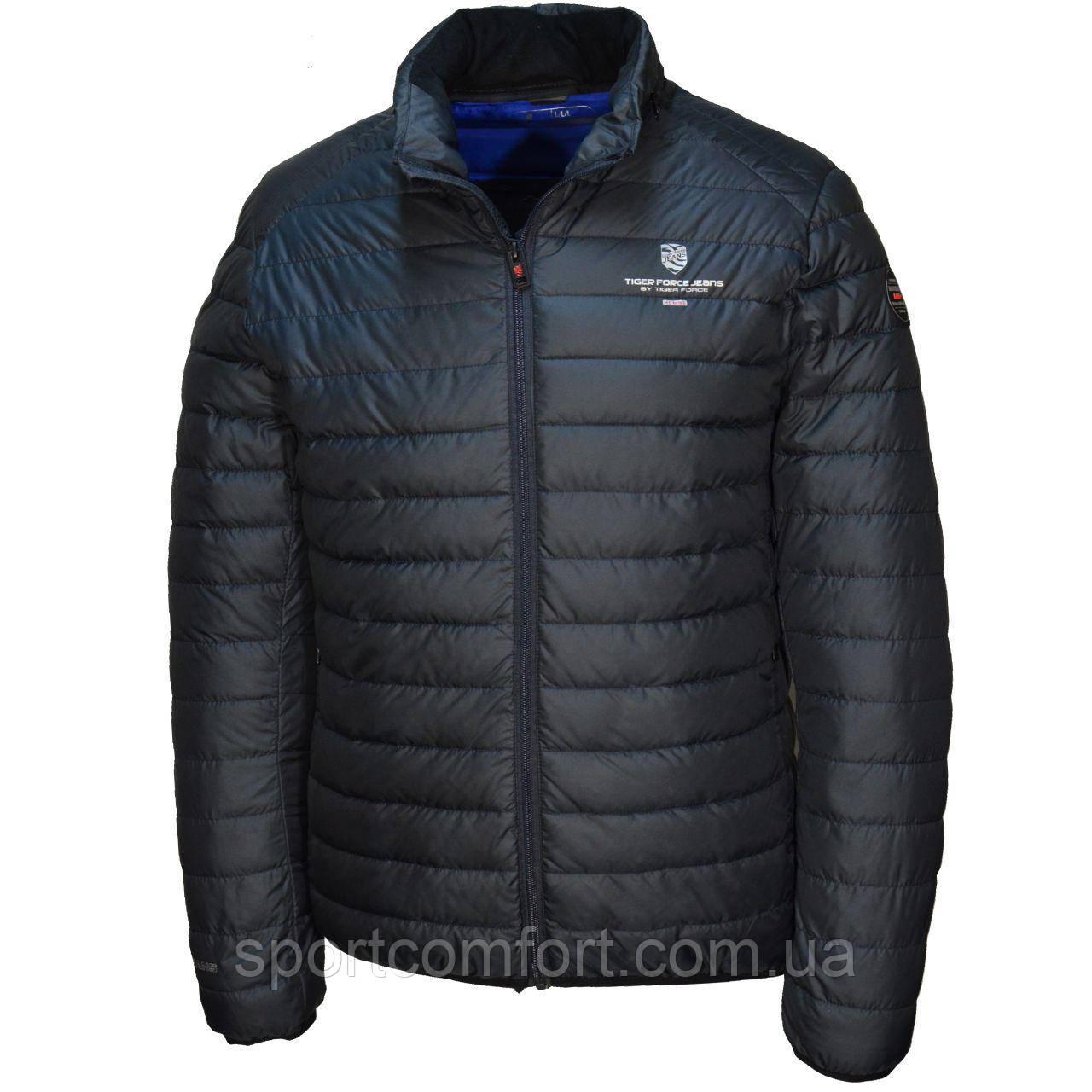 Весенняя куртка Tiger Force т.синяя, бордо,хаки