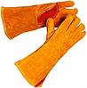 Захисні рукавиці (краги) виготовлені з ялової шкіри на підкладці СП-23, фото 2