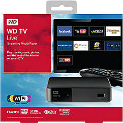 "Медиацентр Western Digital TV Life  Streaming (WDBGXT0000NBK-EESN TV) ""Over-Stock"""