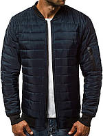 Куртка мужская (бомбер). Синего цвета. Куртка чоловіча. ТОП КАЧЕСТВО!!!, фото 1