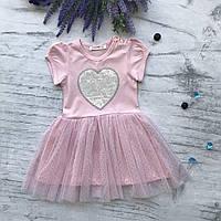 Летнее платье на девочку Breeze 113. Размеры 86 см, 98 см, фото 1