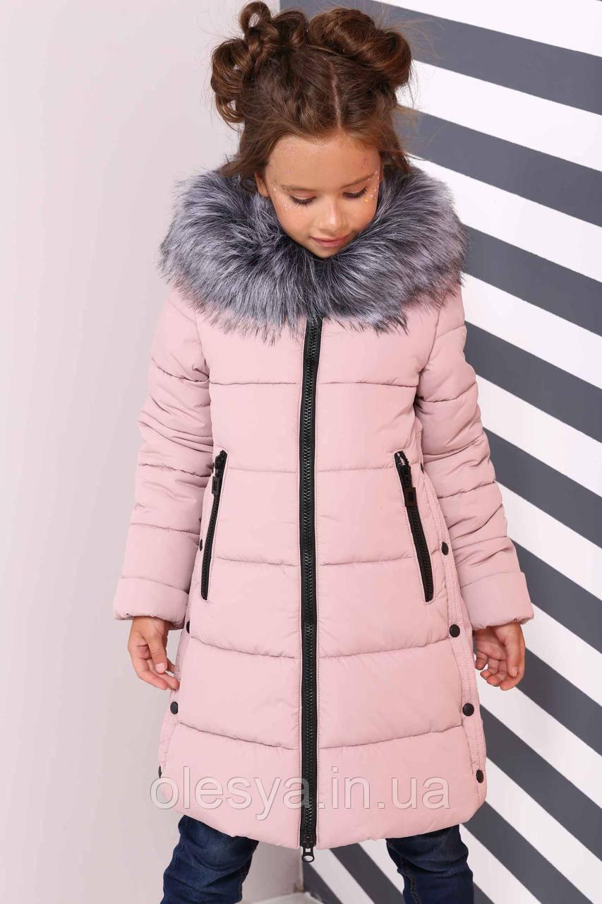 Пальто детское зимнее Вики ТМ Нуи Вери - Размеры 116