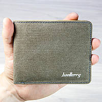 Кошелек мужской Baellerry 3003-0067 Grey