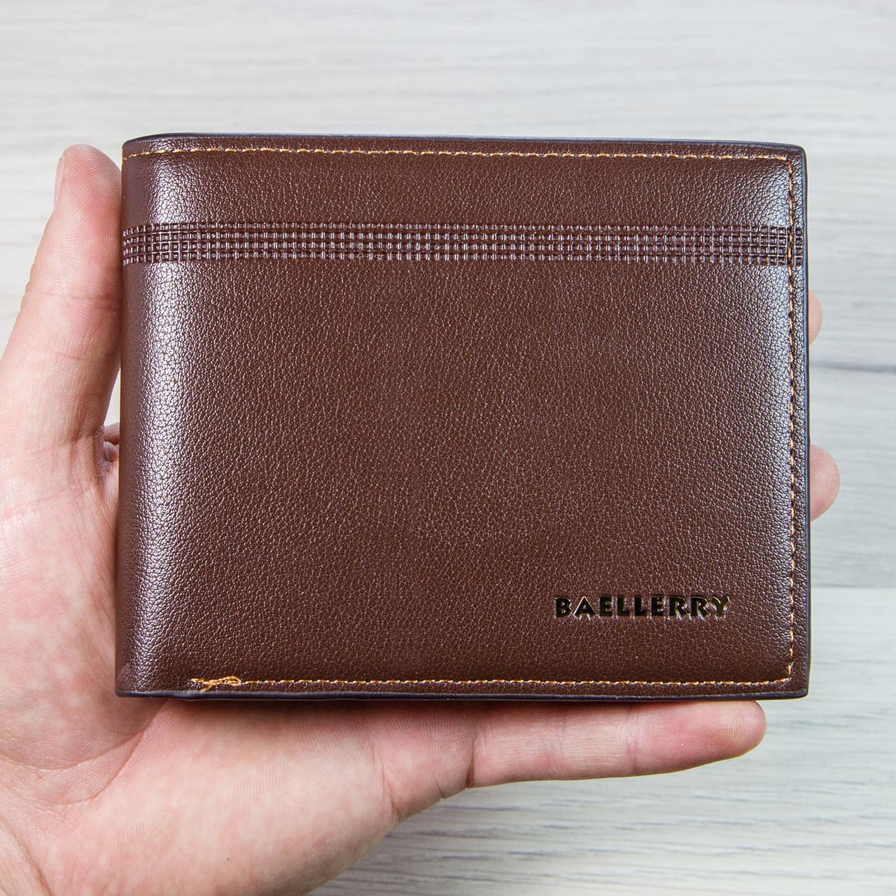 Кошелек мужской Baellerry classic plus 3003-0209 Brown