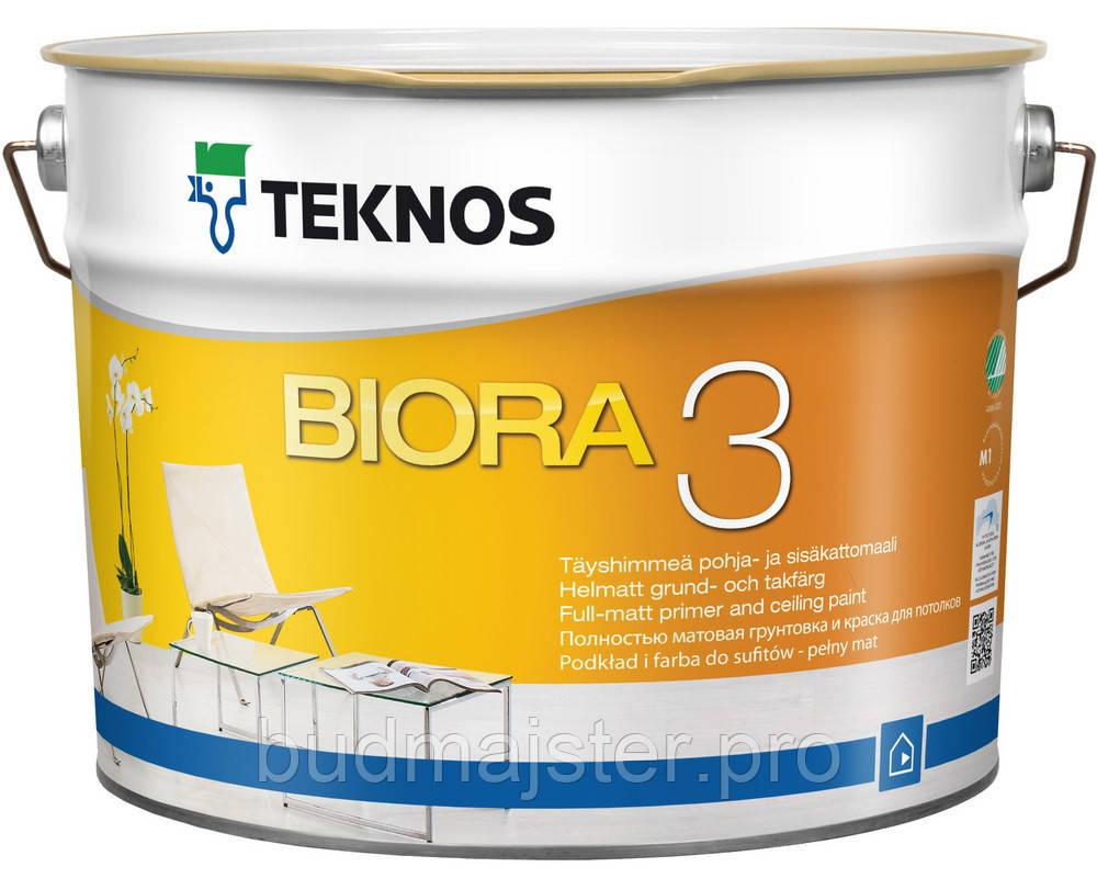 Фарба Teknos Біора 3 матова, 9,0 л