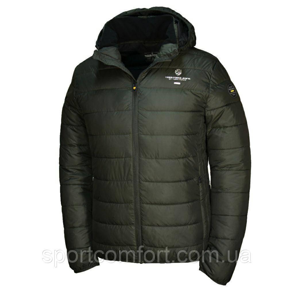 Осенне-весенняя куртка Tiger Force черная,  синяя, бордо,хаки