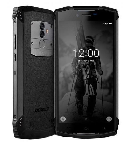 """Смартфон Doogee S55 Lite 2/16Gb Black, 13+8/5Мп, 5500 мАч, IP68, 2sim, 5.5"""" IPS, 4G"""