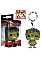 Фигурка - брелок Pocket pop keychain Avengers - Hulk 3.6 см