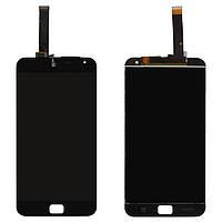 """Дисплейный модуль (дисплей + сенсор) для Meizu MX4 Pro 5.5"""" (M462), черный, оригинал"""