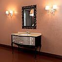 Тумба для ванной комнаты Marsan Angelique 910 в цвете фасад золото/серебро, фото 2