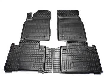 Коврики в салон Geely Emgrand X7 2013- черный, кт - 4шт