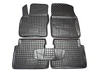 Коврики в салон Ford Focus 2004-2011 черный, кт - 4шт