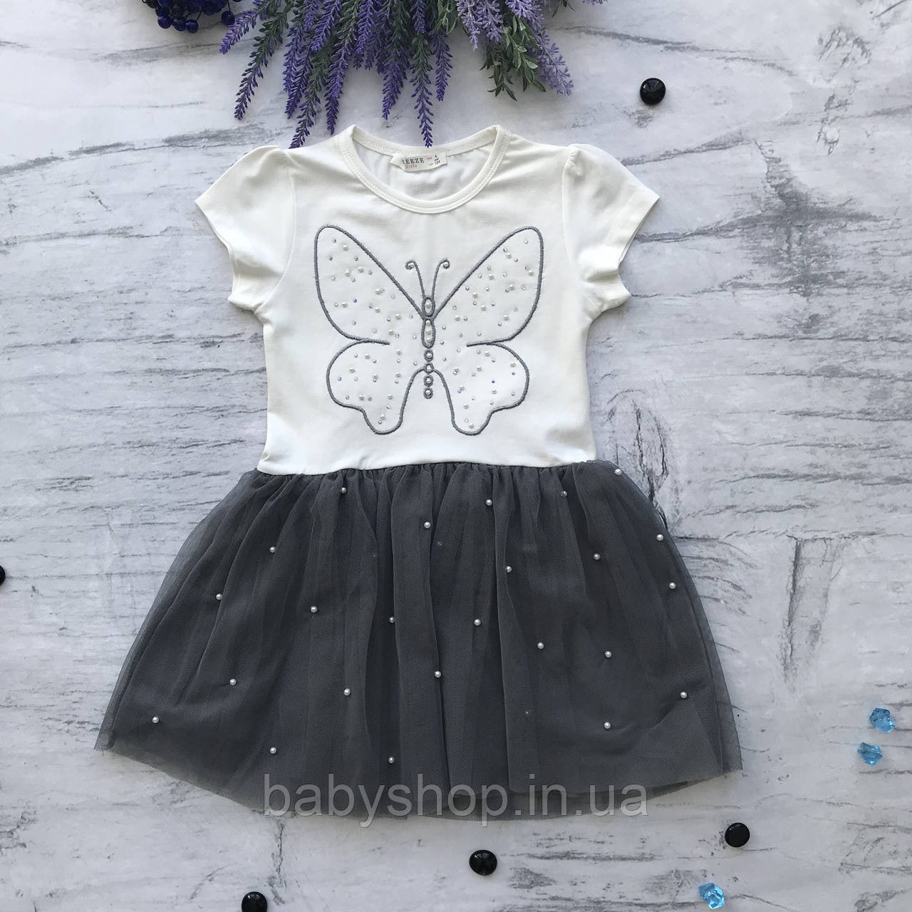 Летнее платье на девочку Breeze 115. Размеры 128 см