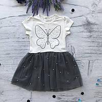 Летнее платье на девочку Breeze 115. Размеры 128 см, фото 1