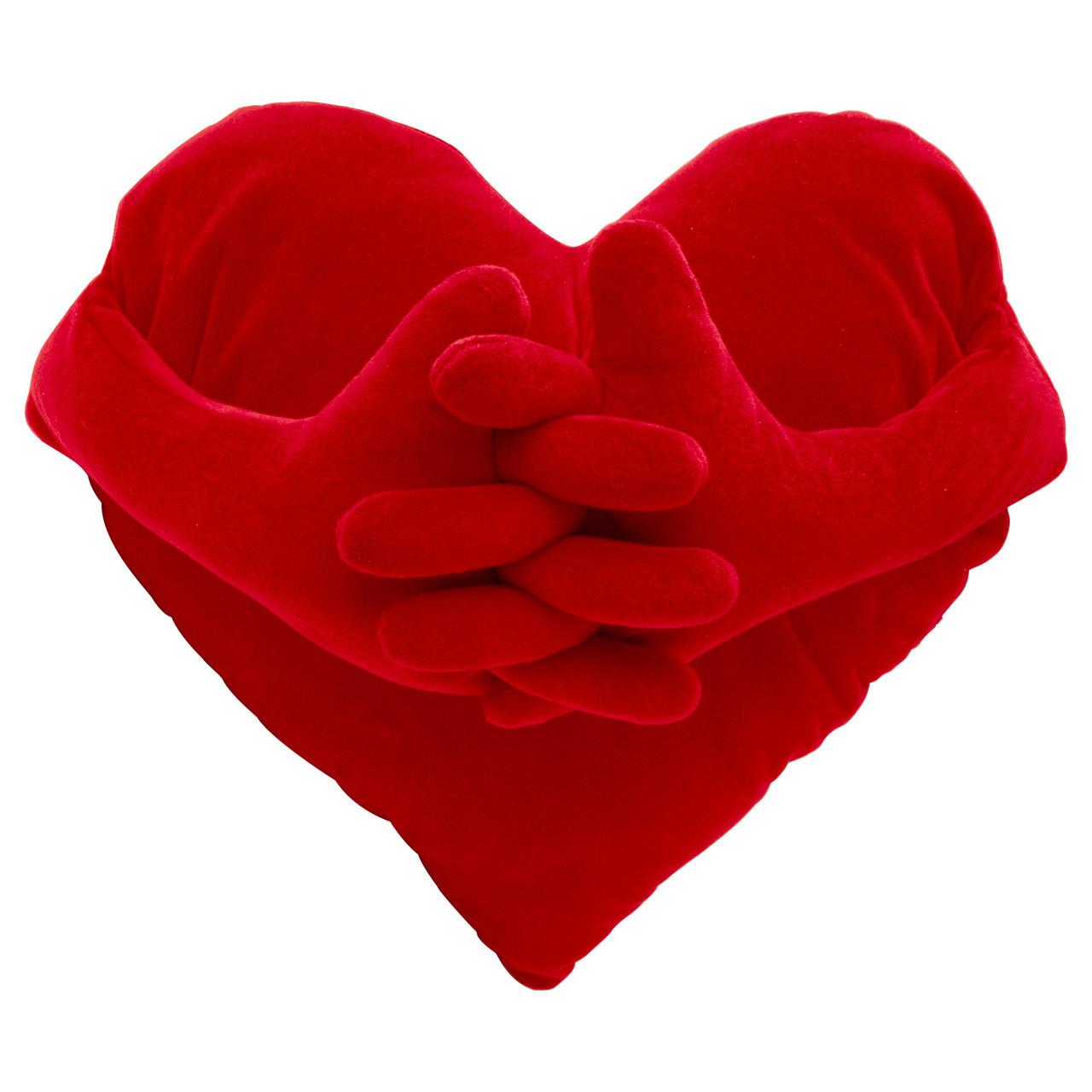 ФАМНИГ ЙЭРТА Подушка, красный, 40x101 см, 27470460, ІКЕА, ИКЕА, FAMNIG HJARTA