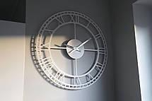 Часы настенные металлические в стиле лофт - Vintage White 60 cm, фото 3