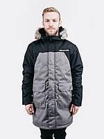 Зимняя куртка парка мужская Urban Planet S2 BLK_MEL
