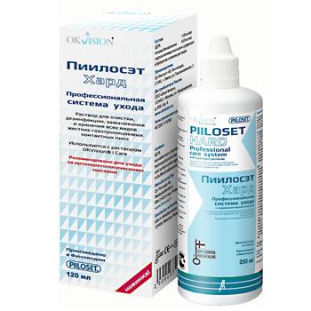 Ополаскиватель для жестких контактных линз Piloset 120ml