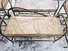 Пуфик кованый профиль большой, фото 3