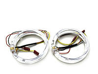Ангельские глазки LED 80 мм CREE 3535 2SMD White/Yellow
