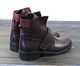Жіночі модні черевики Lonza 302 BORDO розмір 36 23,5 см, фото 4