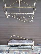 Пуфик кованый профиль большой, фото 2