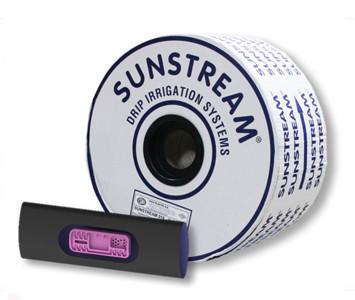 Капельная лента эмиттерная Sunstream 20см, 6mill (бухта 200 м)