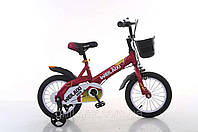 """Велосипед TopRider 876 16"""" красный детский двухколесный , фото 1"""