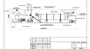 Линия по производству топливных брикетов пини-кей pini key