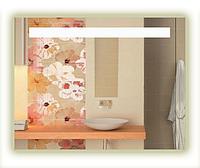 Зеркало для ванной комнаты с LED подсветкой. 800х600мм. 10ВТ, влагостойкий трансформатор, каркас пластик СД-1, фото 1